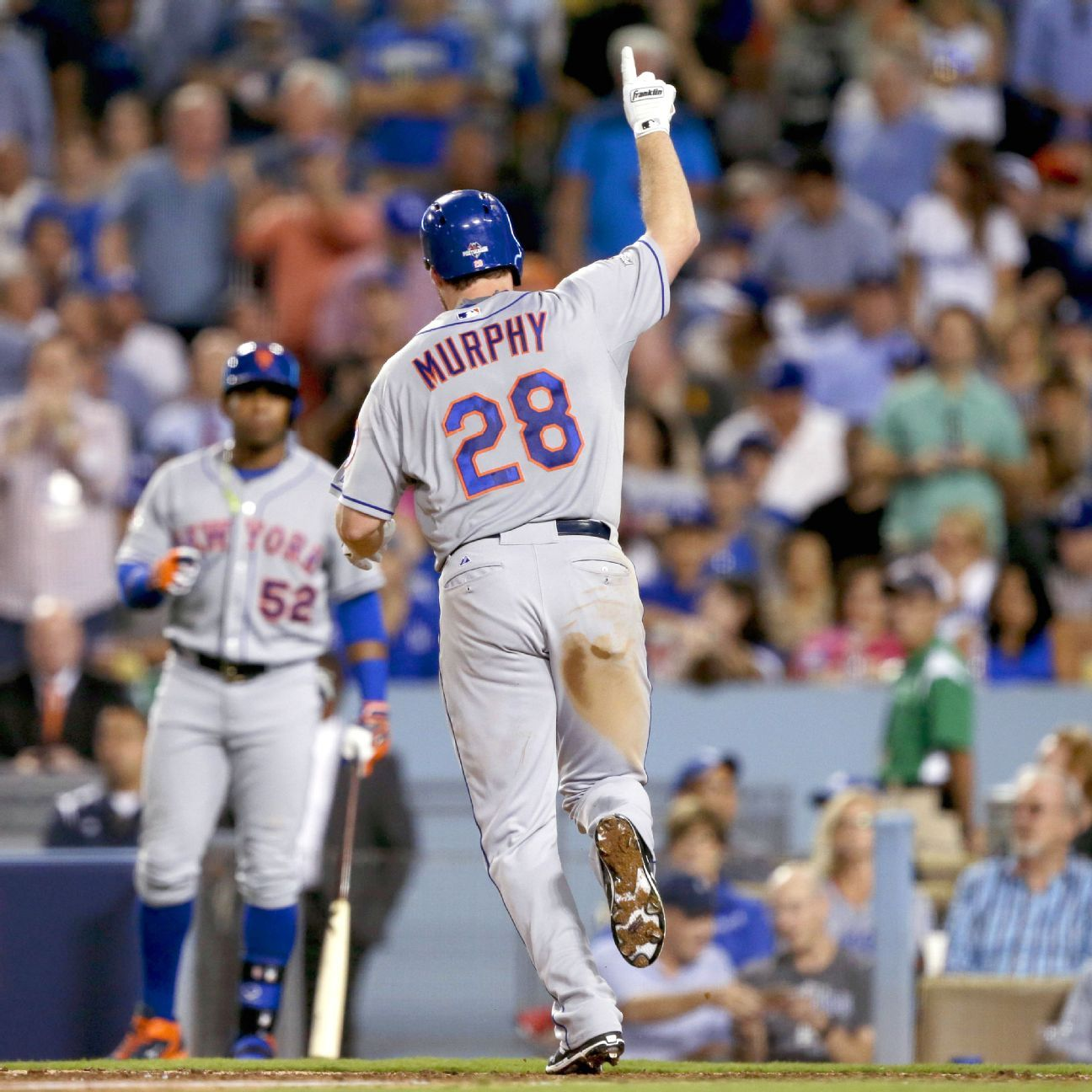 Amazin' performances by Murphy, deGrom send Mets to NLCS