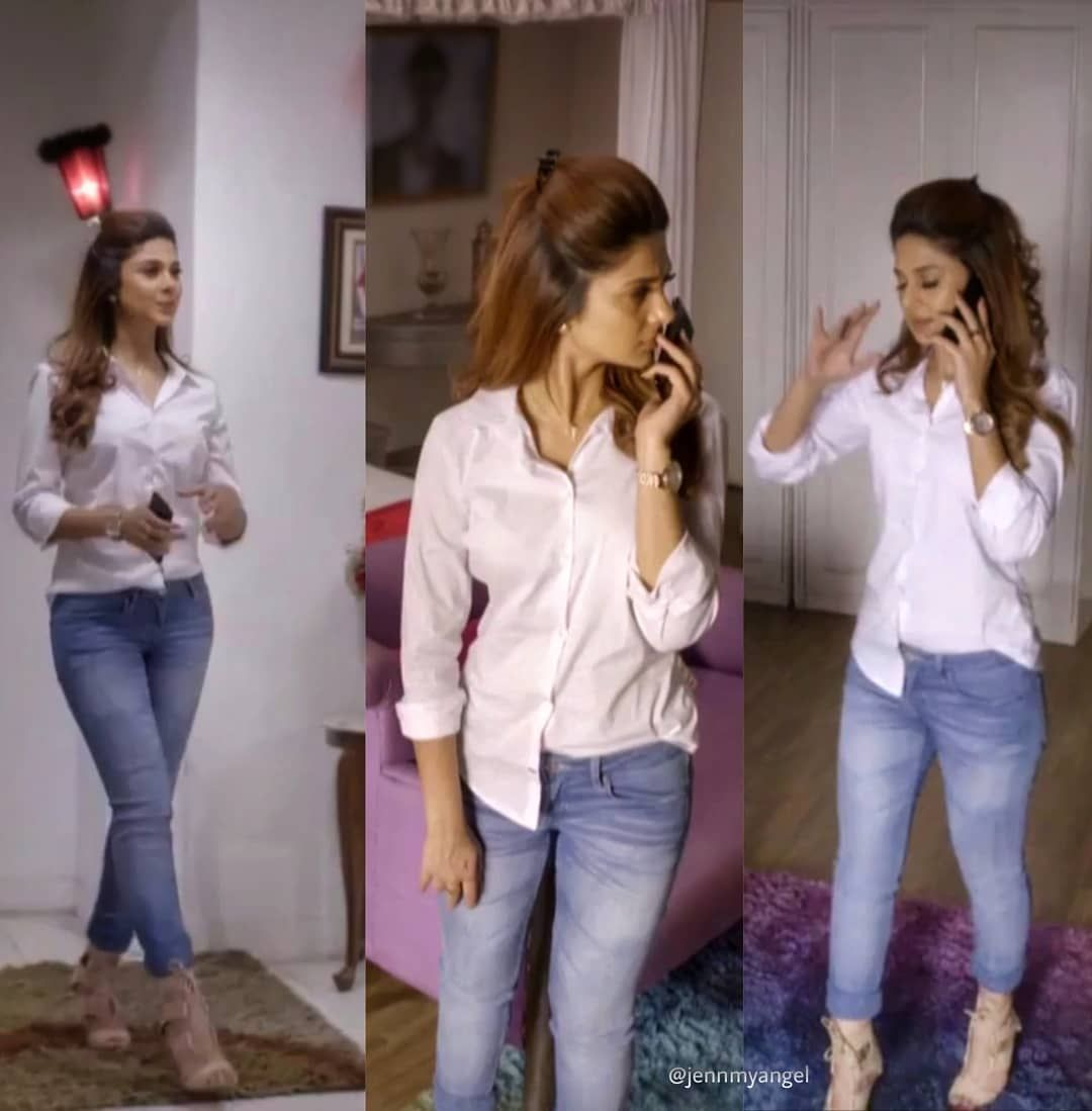 Jennifer Winget Fan Page S Instagram Post Stylo Queen Jenniferwinget1 Jennifer Winget Stylish Jeans Top Young Fashion