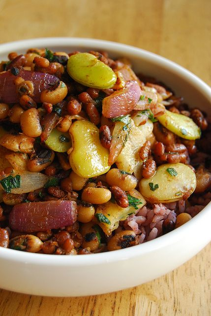 A new take on rice and beans. Looks good!
