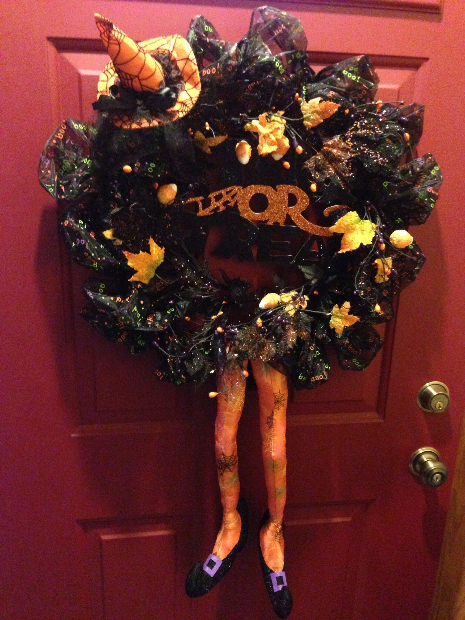 Halloween wreath Венки