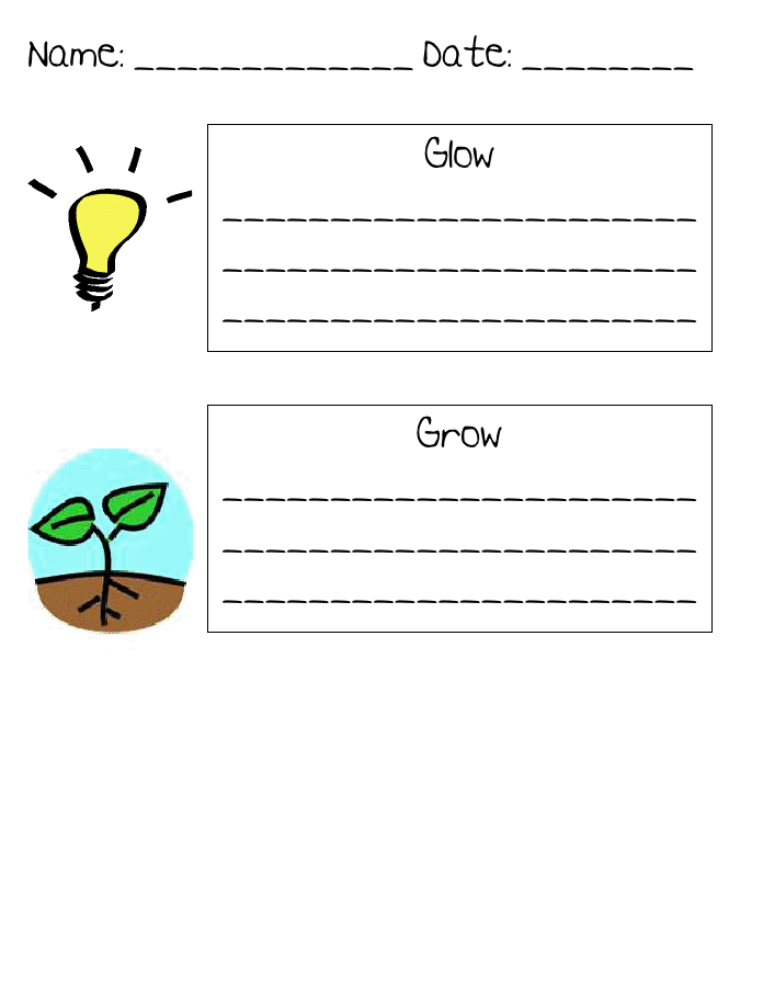 Glow And Grow  School Stuff    Mindset Teacher And School