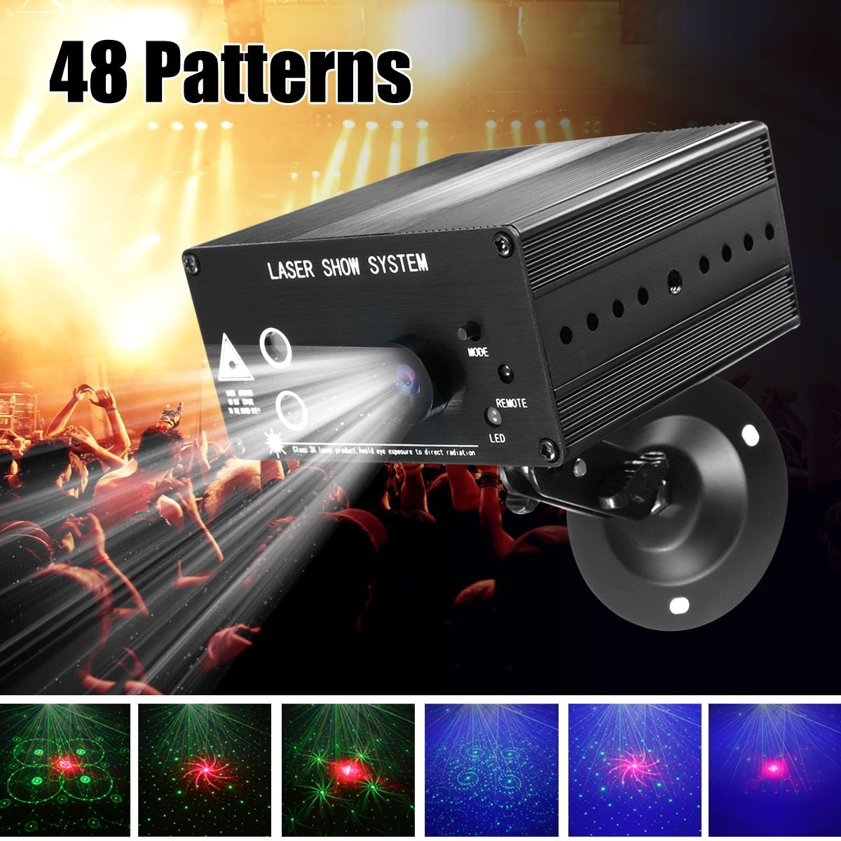 Cheap Stage Lighting Effect Buy Directly From China Suppliers 48 Pattern Laser Projector Remote Led Disco Lights Decorating With Christmas Lights Disco Lights