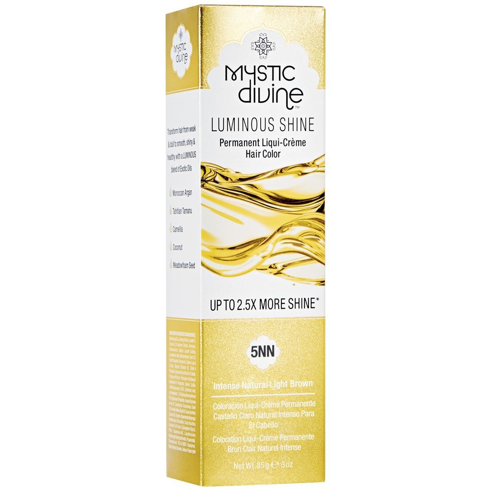 5NN Intense Natural Light Brown Permanent LiquiCreme Hair