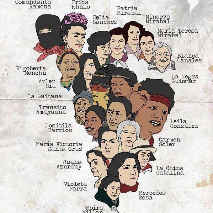 luchadoras latinoamericanas | Feminista, Arte feminista, Feminismo