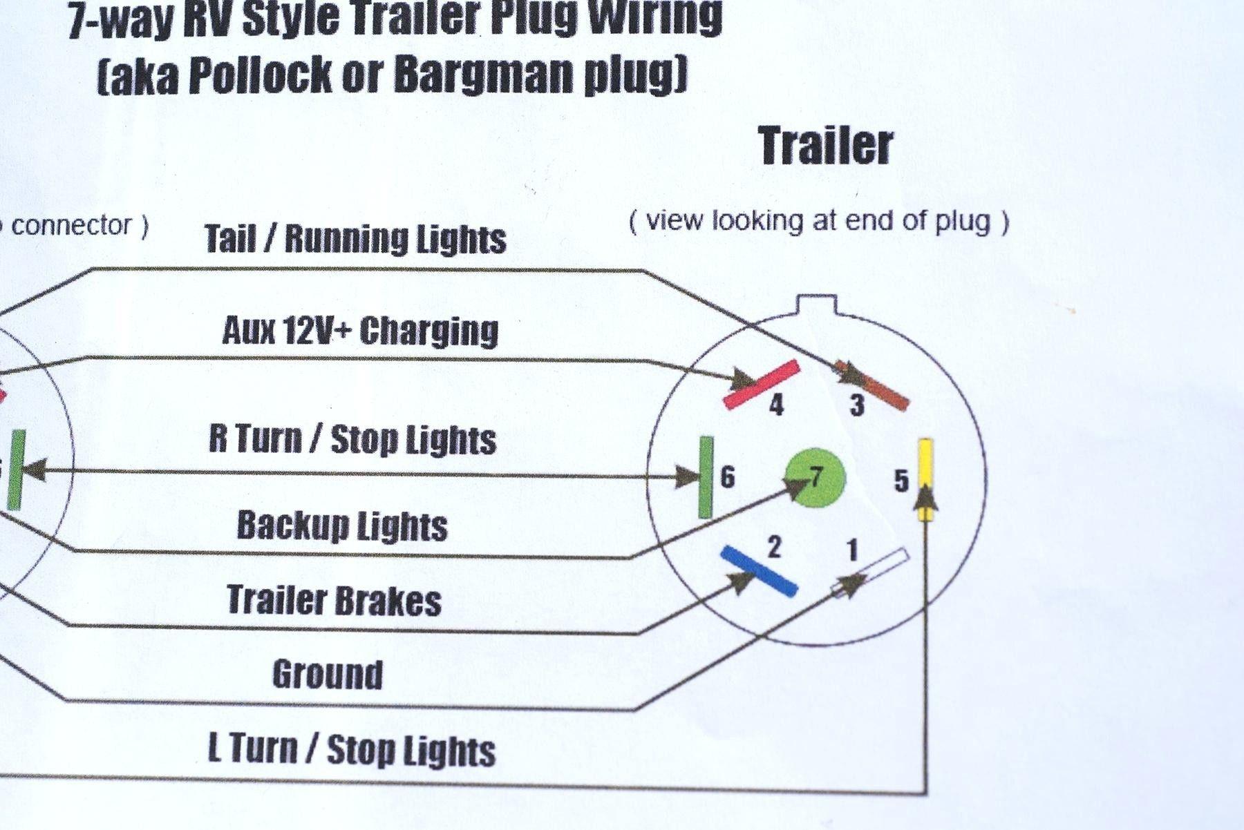 Inspirational 6 Wire Trailer Plug Wiring Diagram In 2020 Trailer Wiring Diagram Trailer Light Wiring Boat Trailer Lights