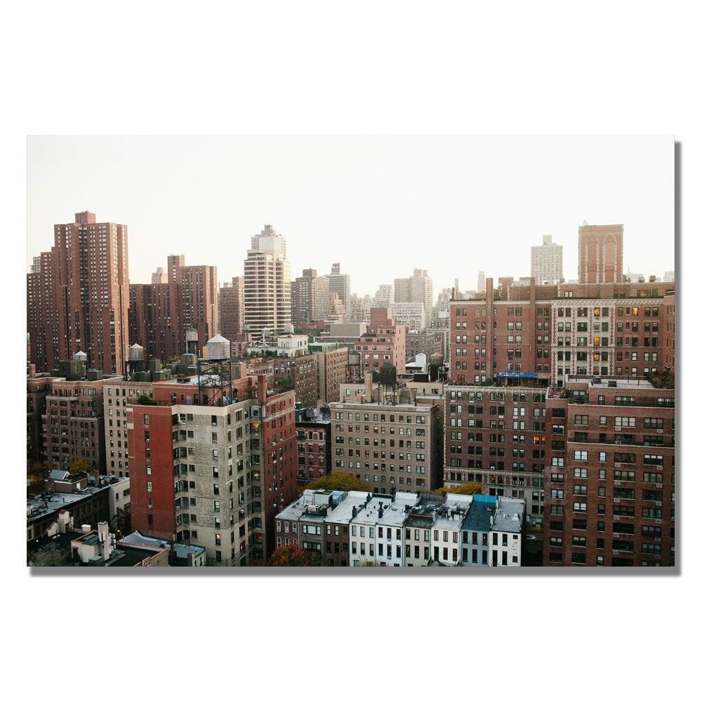 Trademark Fine Art Ariane Moshayedi 'City' Canvas Art