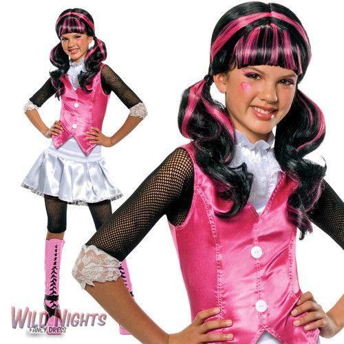 Monster High Kostuem Ebay.Girls Monster High Fancy Dress Costume Fancy Dress Costumes Kids Superhero Fancy Dress Monster High Fancy Dress