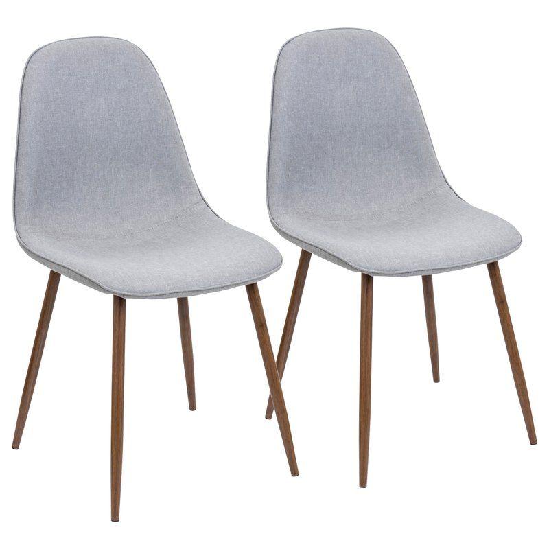 Birdsall Mid Century Modern Upholstered Dining Chair Reviews