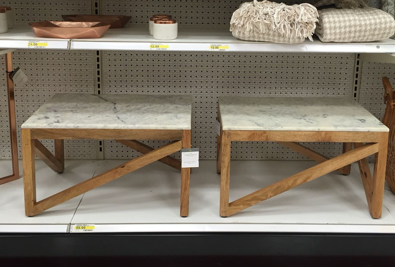 Target Marble And Wood Coffee Table 99 99 Wish List In