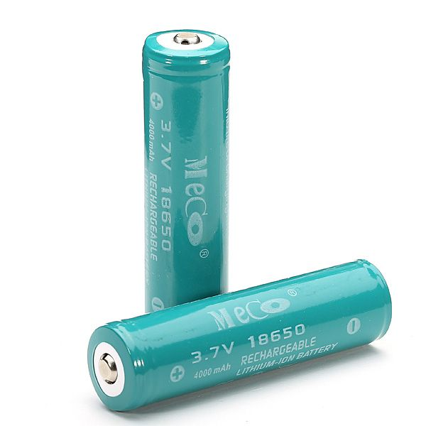 2pcs Meco 3 7v 4000mah Protected Rechargeable 18650 Li Ion Battery Flashlight From Lights Lighting On Banggood Com Flashlight Recharge Lights