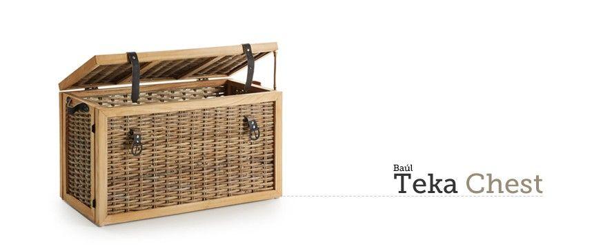 Baúl Teka Chest en Ottoyanna #baul #cofre #almacenaje #decoration #decoracion
