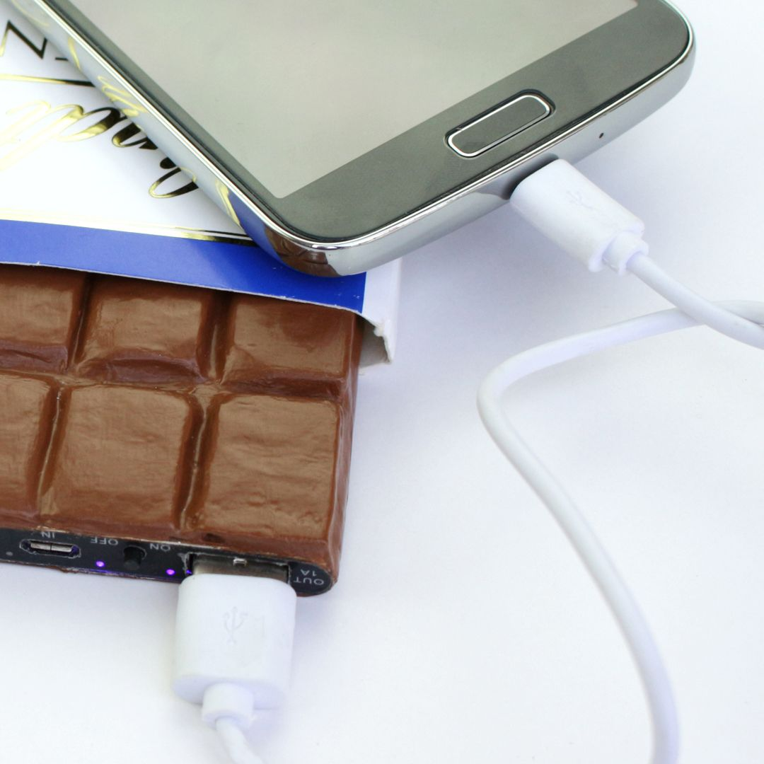 How-to make chocolate phone charger or a power bank. this DIY ...