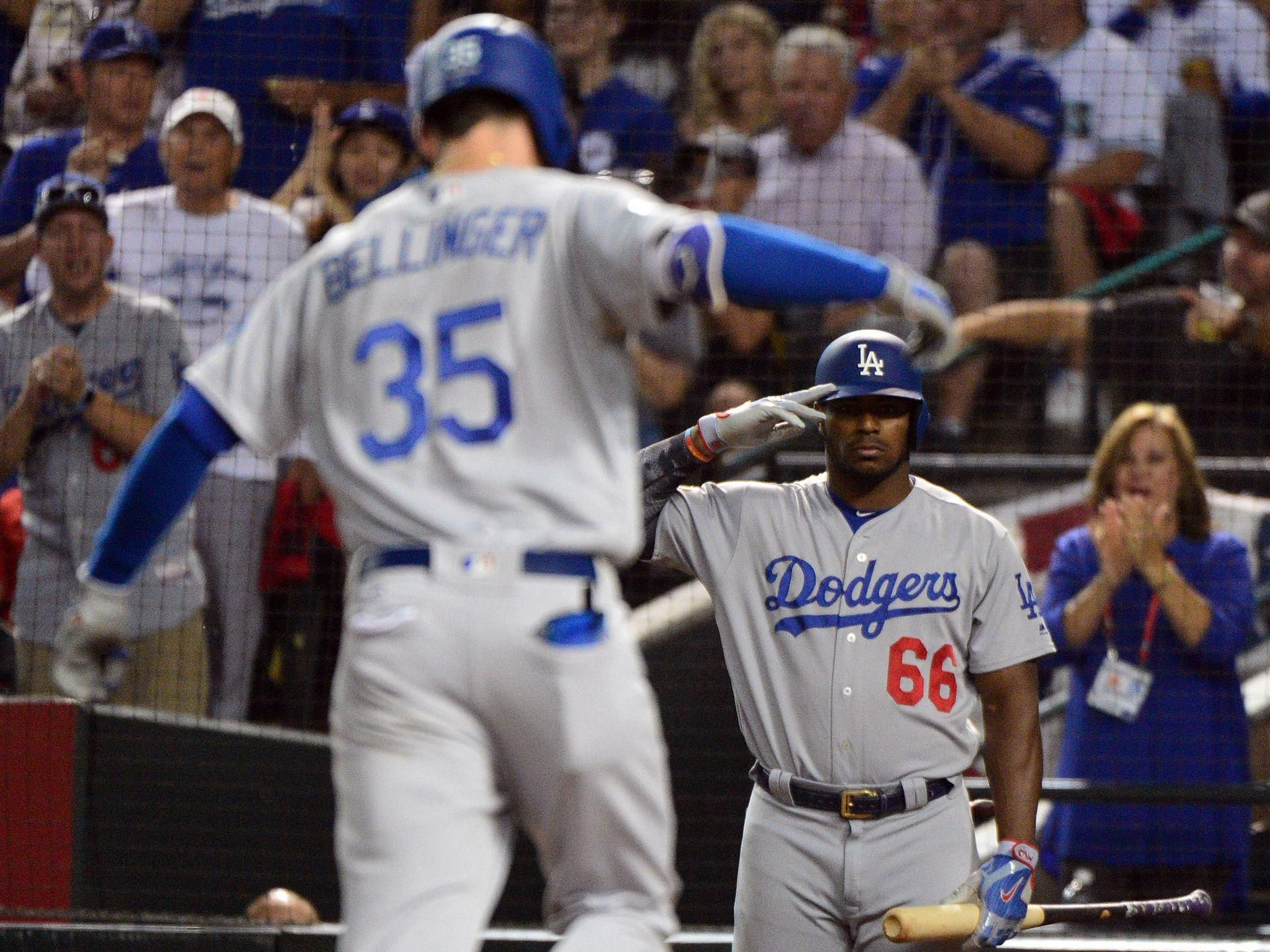 Dodgers sweep rival Diamondbacks to advance to second