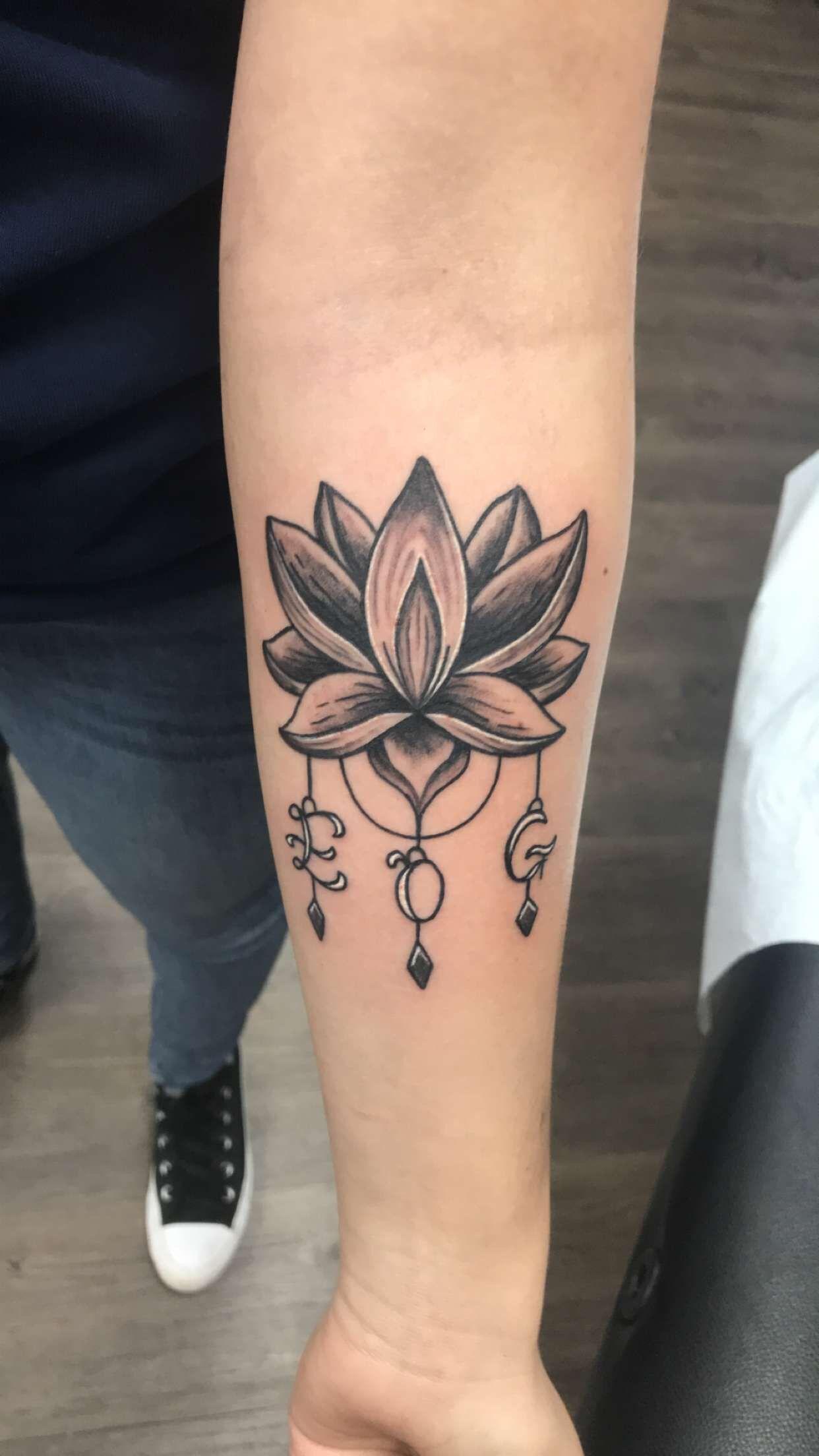 Lotus Flower Tattoo Tattoos Lotus Flower Tattoo Initial Tattoo