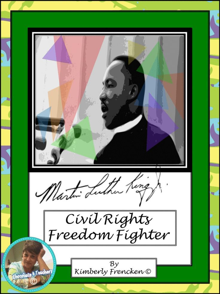 MLK: Nonfiction passages with reading skills practice