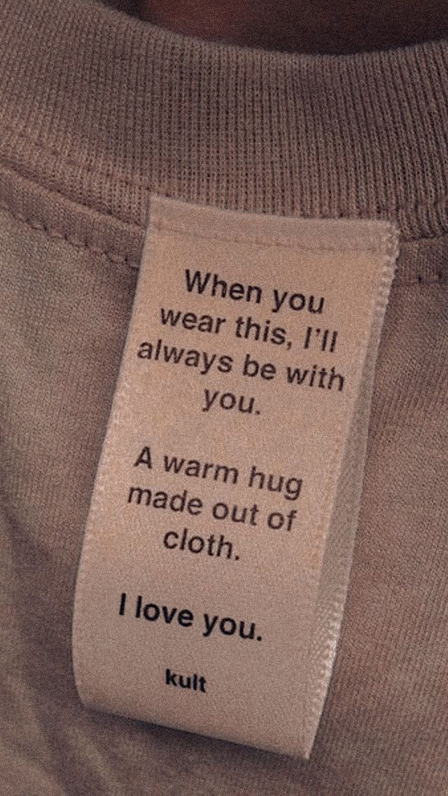 #motivation #quote #iloveyou #love #clothes #outfit #cute #warm #hug #wear