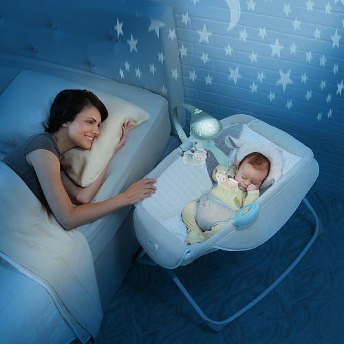 Ingenuity Moonlight Rocking Sleeper Lullaby Lamb