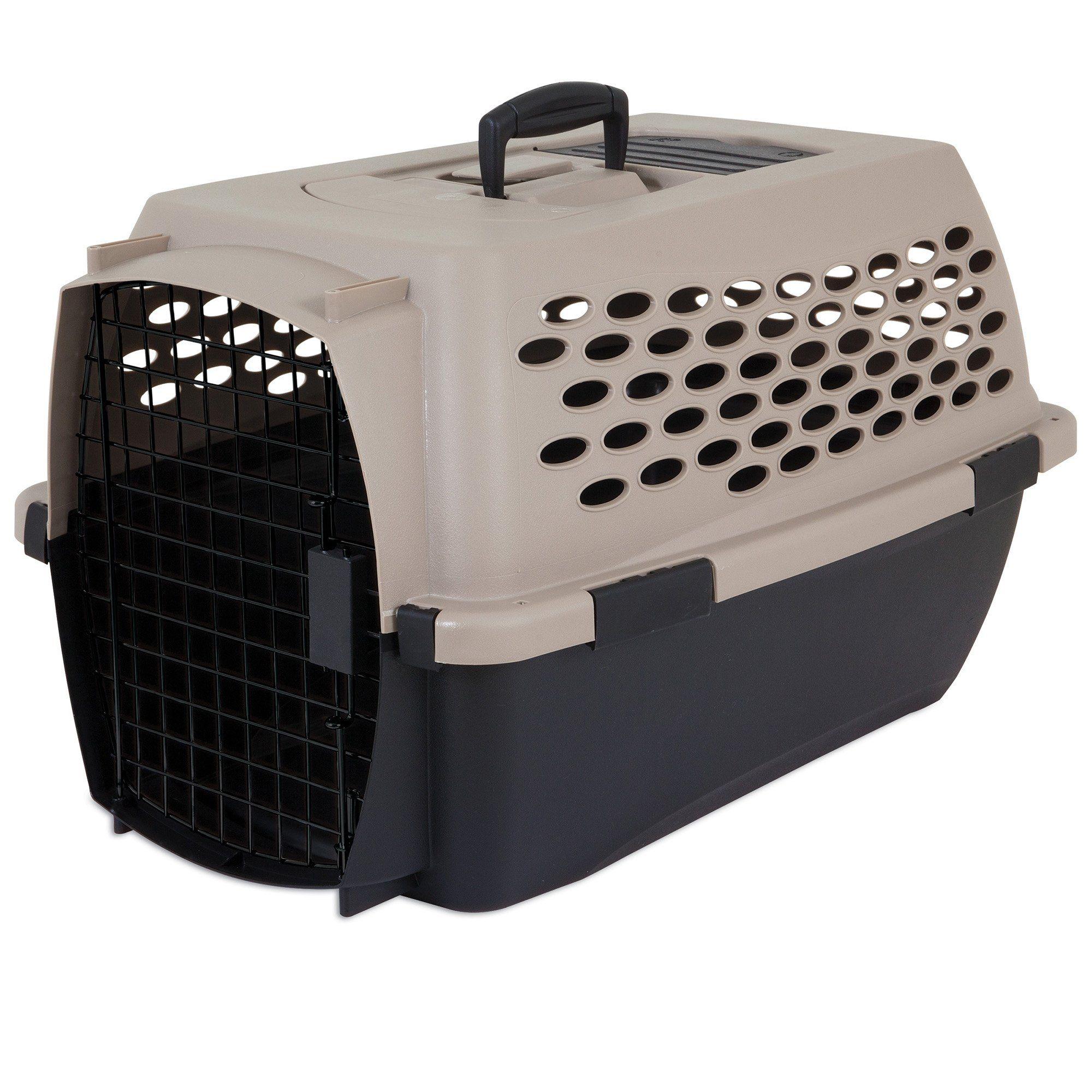 Petmate Tan Vari Dog Kennel 24 1 L X 16 7 W X 14 5 H Medium