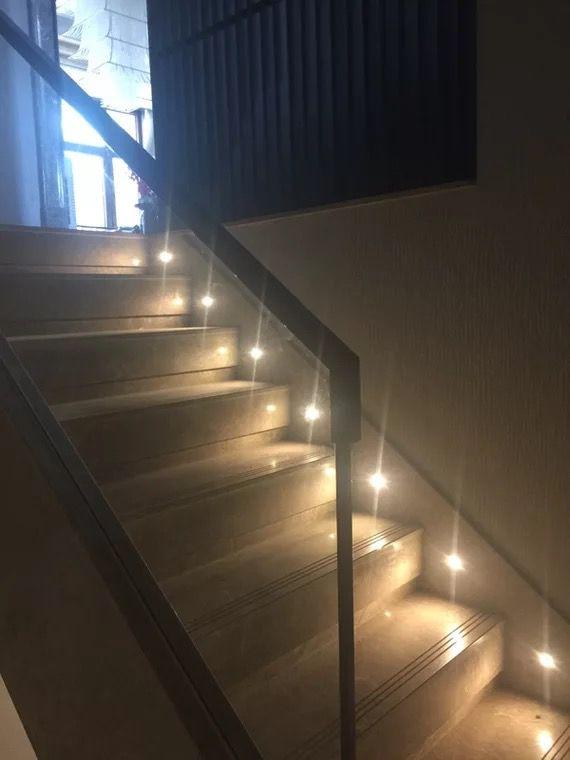 Lighting Basement Washroom Stairs: Mini 1W Led Step Light Footlight Recessed Inground Wall