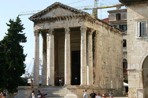 **Temple Of Augustus - Pula, Croatia