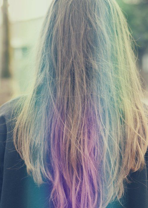 Add A Pop Of Color In Your Hair And Just Love New Shimmering