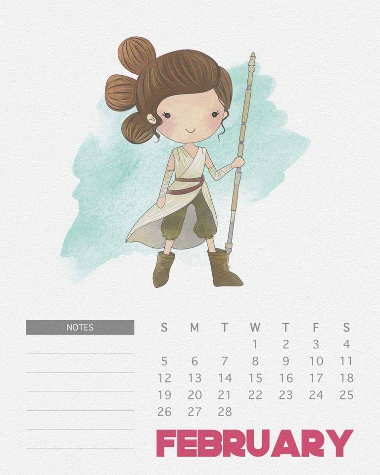 Calendário Star Wars para você imprimir | Nerd Pai - O Blog do Pai ...