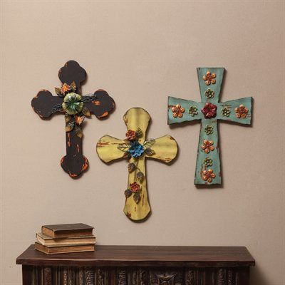 floral crosses