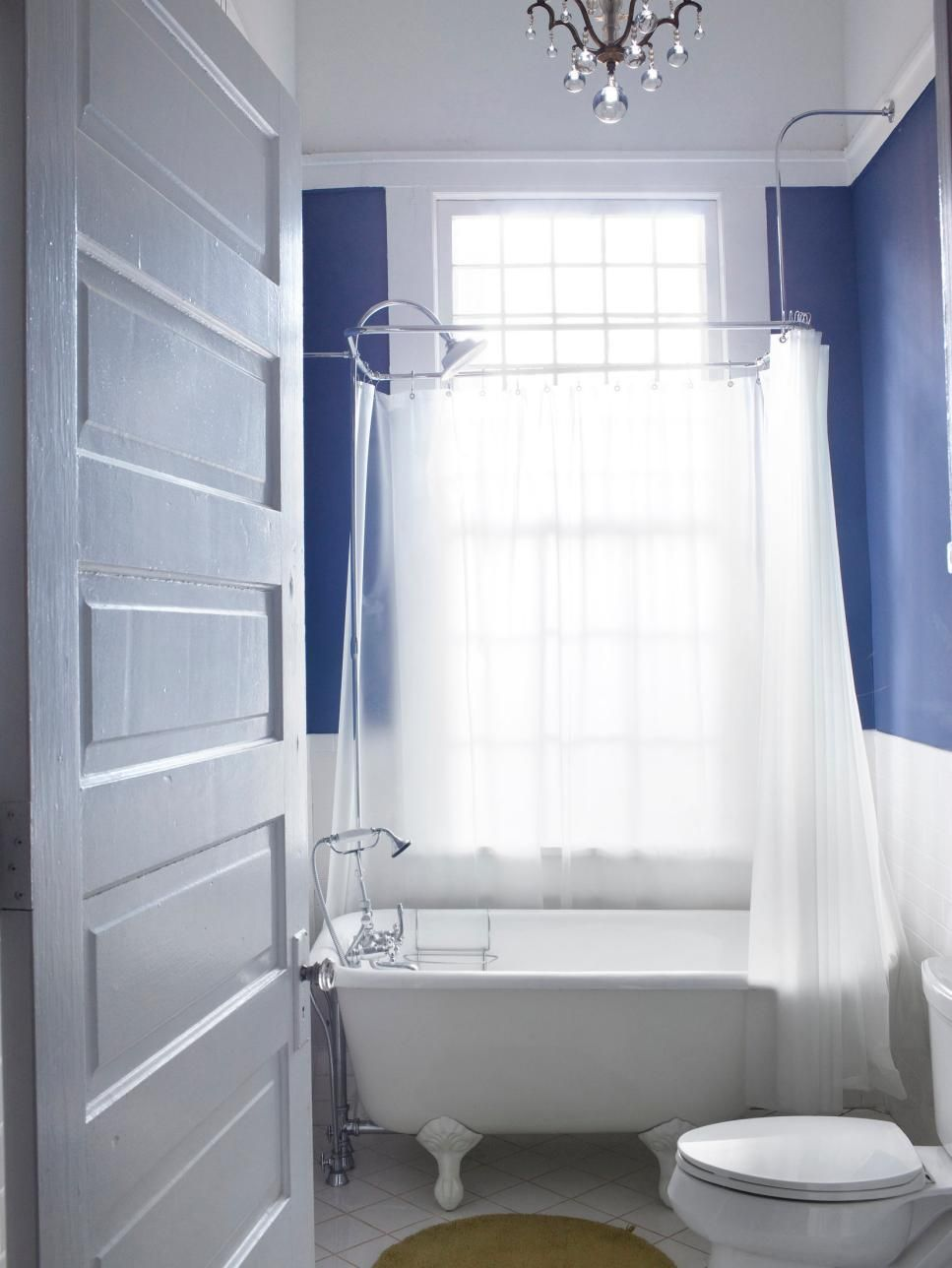 Bathroom Pictures: 99 Stylish Design Ideas You\'ll Love | Blue walls ...