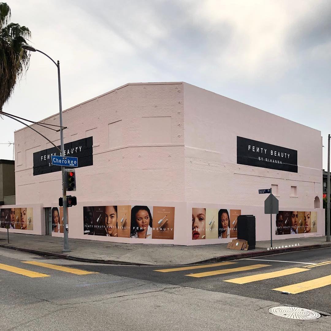 Fenty Beauty Store Pop Ups In Los Angeles Beauty Pop Fenty Beauty Beauty Store