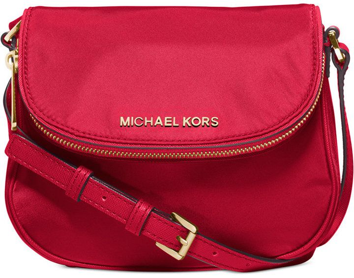49347b116e69 MICHAEL Michael Kors Bedford Nylon Flap Crossbody