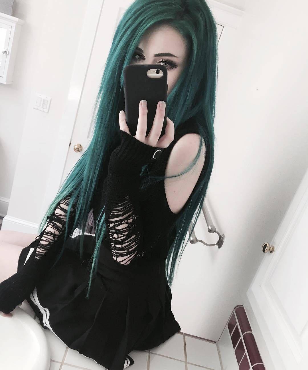 Teens emo goth tube