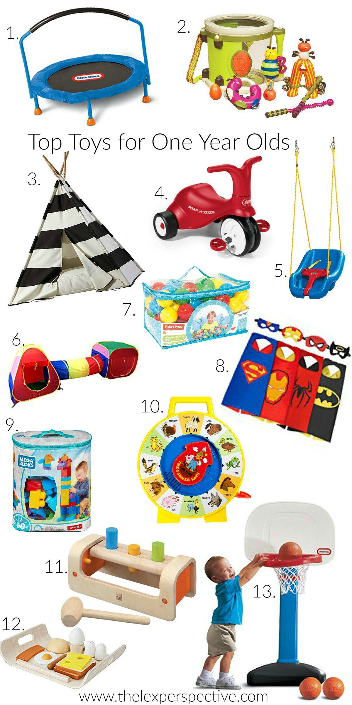 1st Birthday Gift Guide Top Toys for a e Year Old