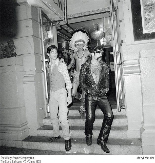 New York Anni 70.New York 70 S Village People 66steakhouse Navigli
