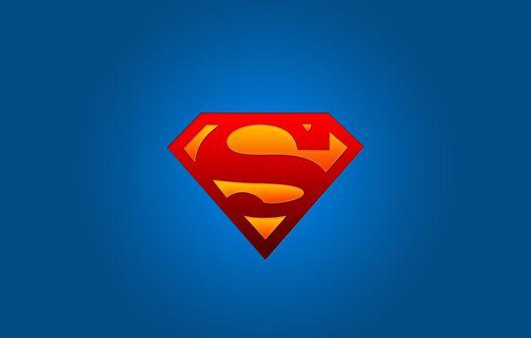Wallpaper Superman Logo Symbol Superhero Wallpapers Minimalism