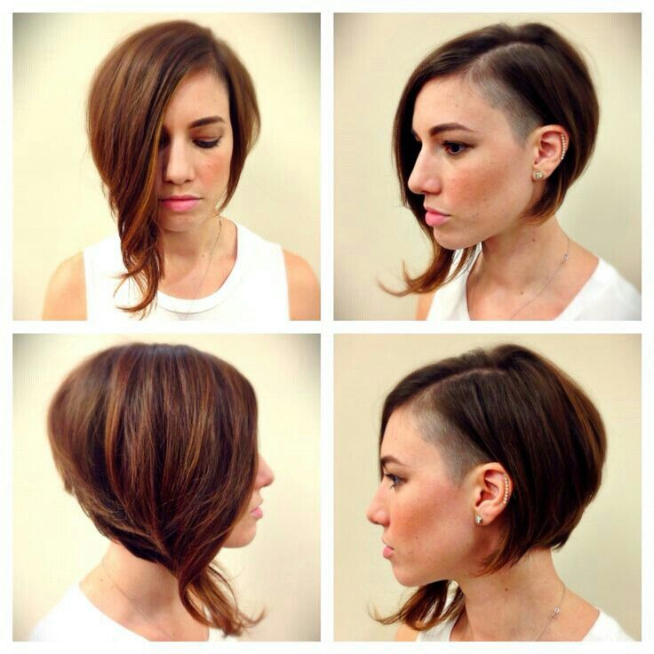 Bob Sidecut Messy Bob Hairstyles Funky Short Hair Wavy Bob Hairstyles