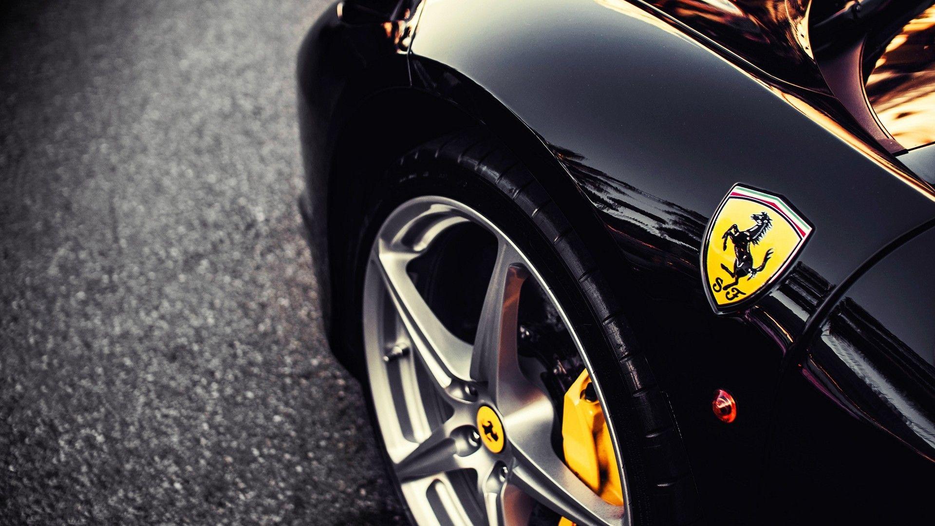ferrari emblem hd 1080p wallpapers download - Ferrari Logo Wallpaper