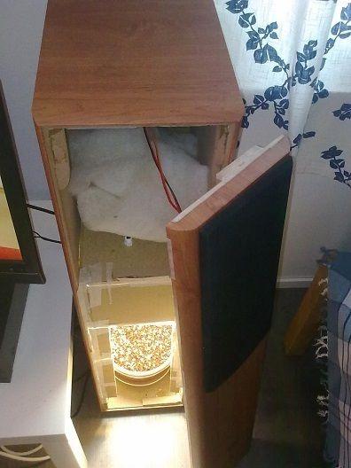 Converting An Old Speaker Into A Homemake Hidden Grow Box Is A
