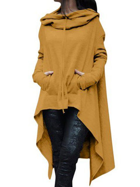 b7066b7e4ad Buy Tops For Women at JustFashionNow. Online Shopping Solid Cotton Casual  Long Sleeve Plus Size Hoody