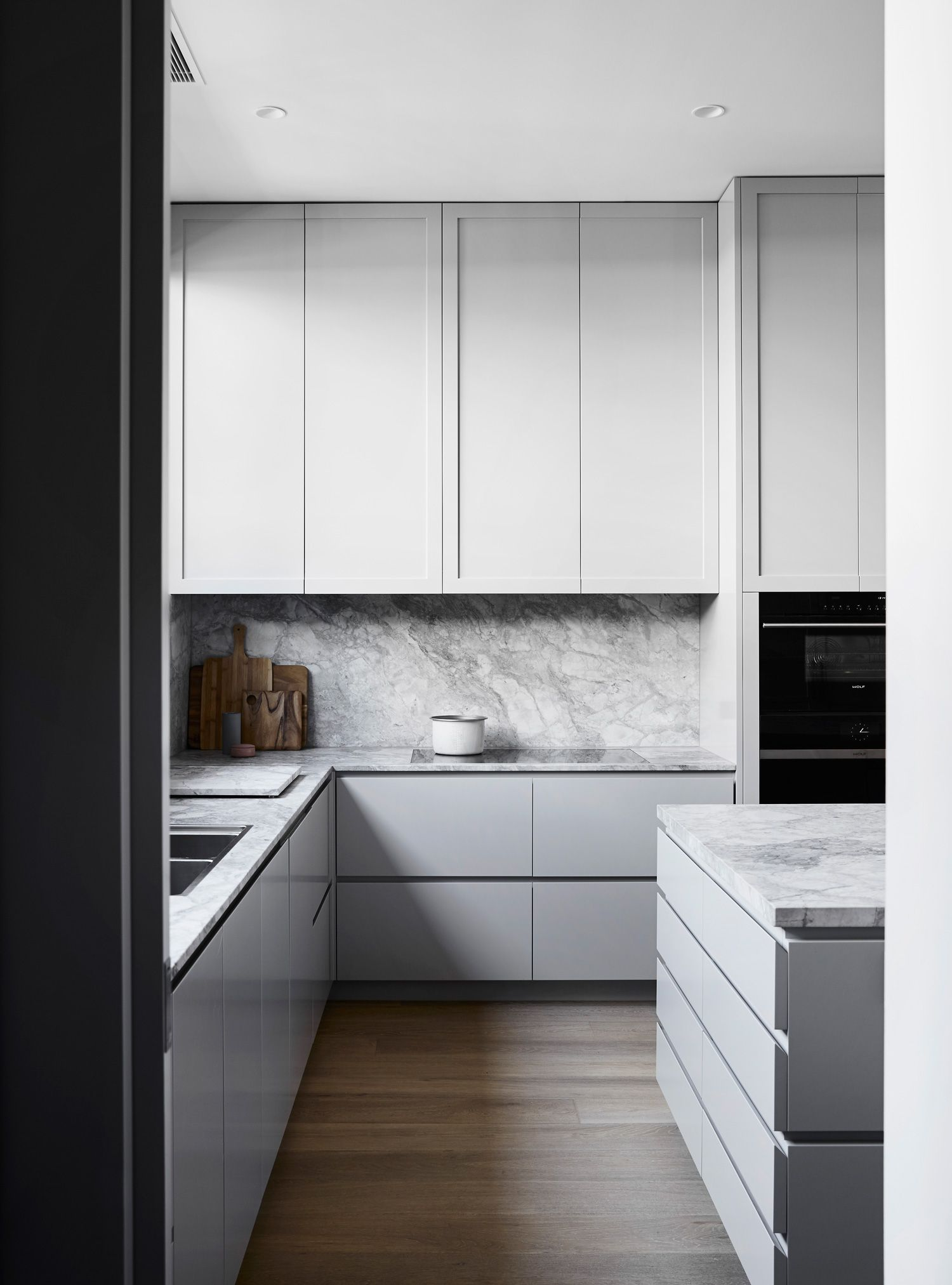 Elsternwick Residence Transformationmim Design  Create Stunning Modern Cabinet Design For Kitchen Review