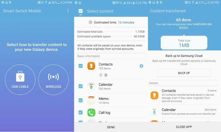 Samsung Smart Switch App Now Supports Windows 10 Mobile Devices