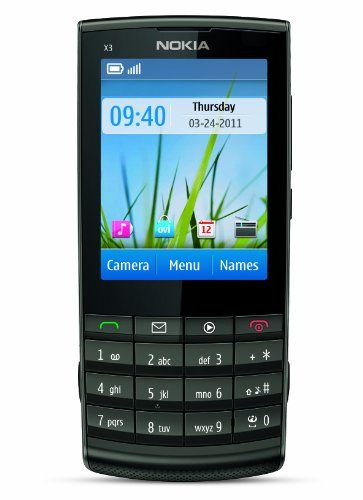 Nokia X3 02 Unlocked Touch And Type Gsm Phone With 5 Mp Camera U S Version With Warranty Metal Nokia Http Www Amazon Com Nokia Phone Prepaid Cell Phones