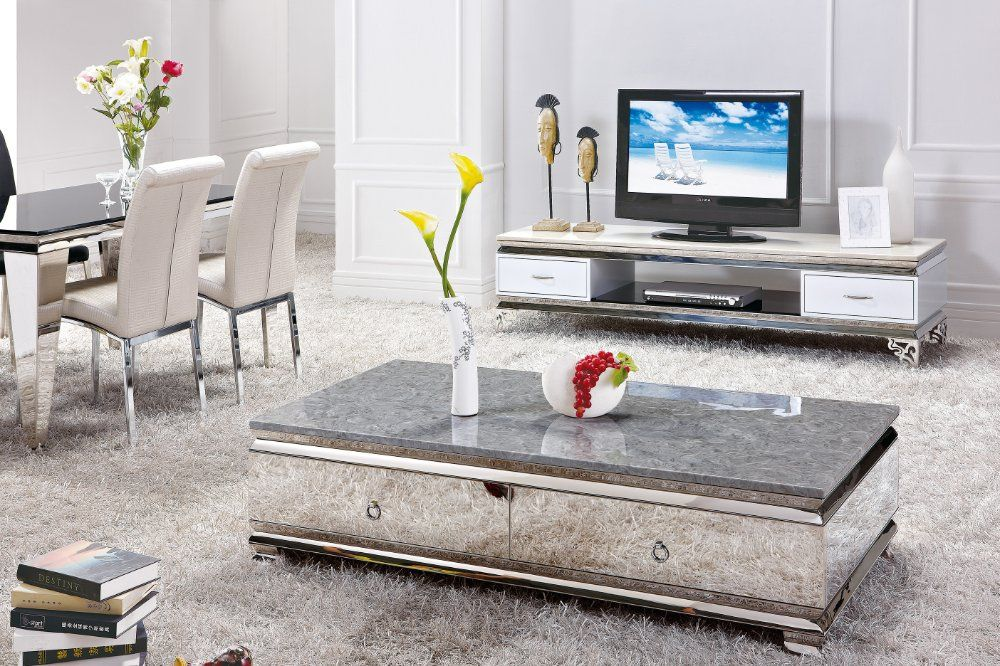 Furniture, Fascinating Area Rug Idea Feat Low Tv Stand And Modern Glass Living  Room Table With Drawers ~ Glass Living Room Tables Application