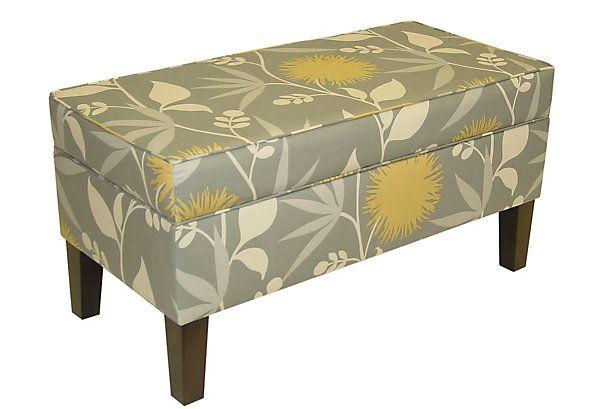 One Kings Lane - Furniture Under $300 - Arthur Storage Bench, Sage ...