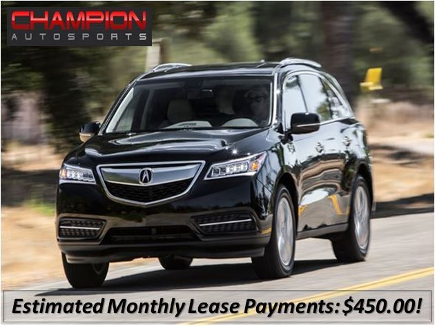 Acura MDX SHAWD Leasing Options We Will Save You Over K - Lease an acura mdx