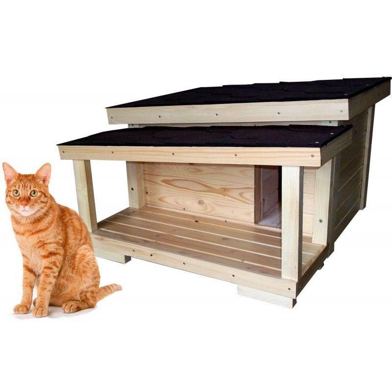 Zateplený domček pre mačku DARLING  fcb4fb8235e