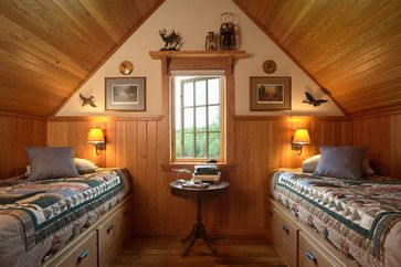 Otter Tail Hunting Lodge - rustic - bedroom - minneapolis - David Heide Design Studio
