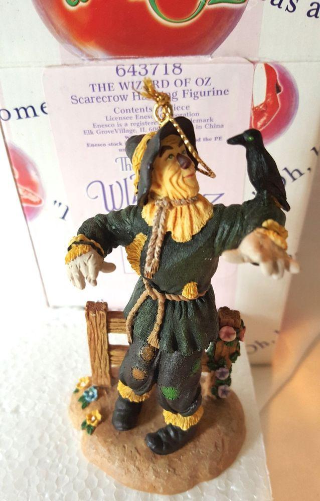 """The Wizard of Oz Scarecrow Ray Bolger Ornament #643718 Enesco NIP 4.25"""" tall #Enesco #WizardofOz"""