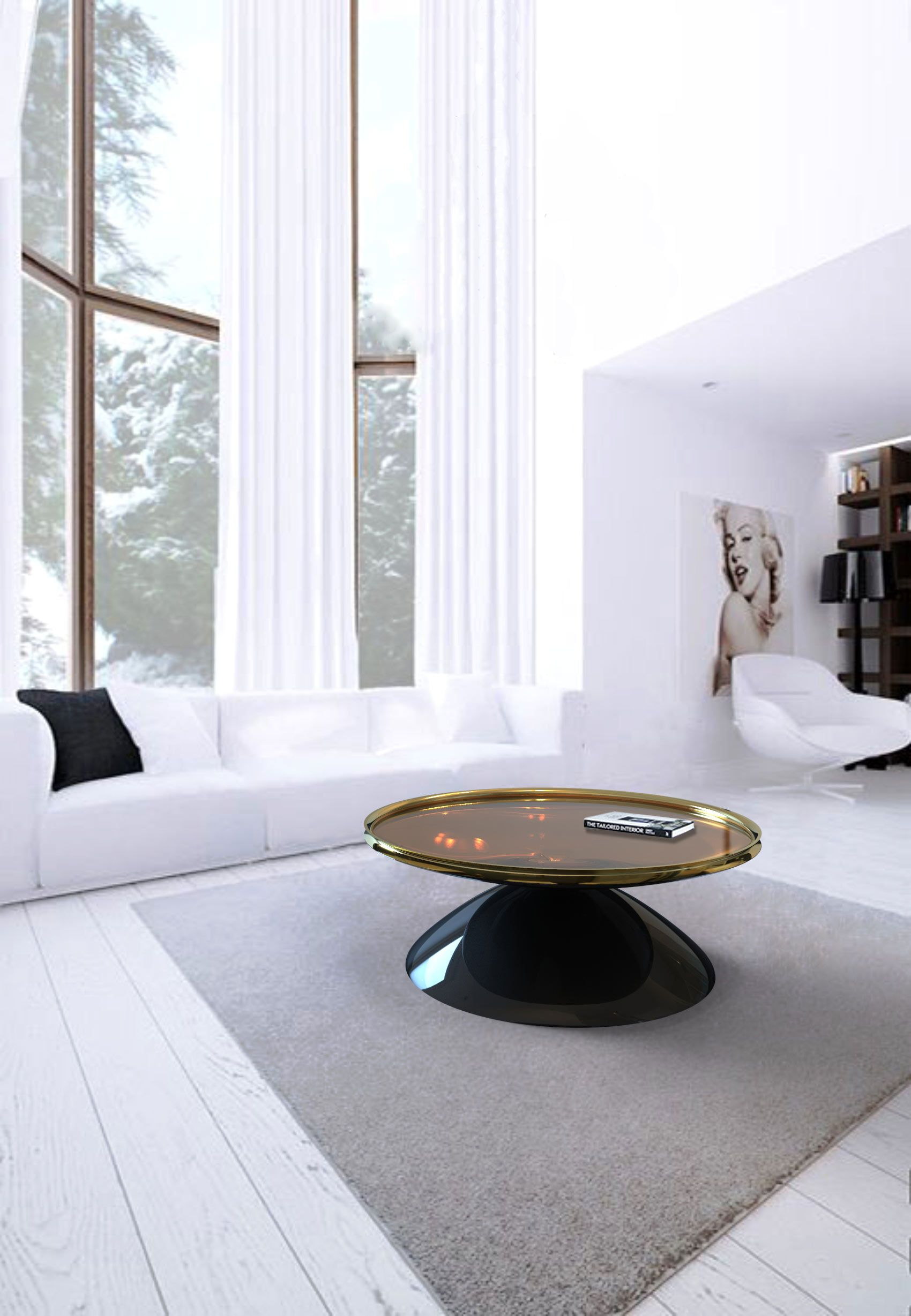 L A Coffee Table Reveals How Simplicity Can Become A Great And