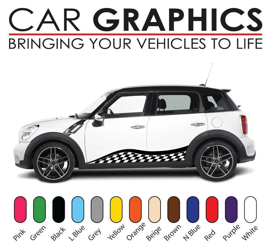 Mini Cooper Car Graphics Decals Stickers Vinyl Design Mn - Vinyl designs for cars