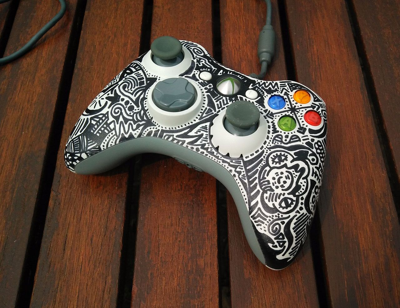 I took my 360 controller apart to clean it and decided to